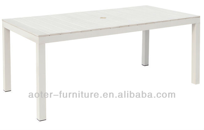 2016 New Modern White Plastic Outdoor Table   Buy White Plastic Outdoor  Table,Outdoor Table,Modern Outdoor Table Product On Alibaba.com