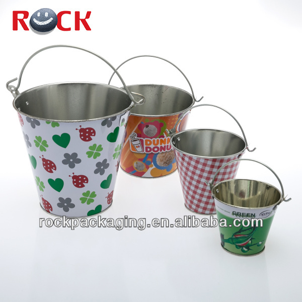 Good quality wholesale mini tin buckets
