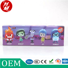 custom made action figure,famous cartoon character figurines,,inside out miniature toy plastic figurines
