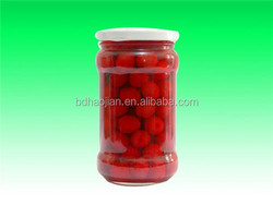 New season high quality canned Fruit Canned Cherry pitted in Syrup
