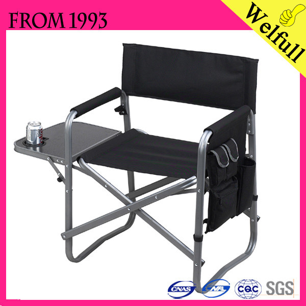Wholesale 2015 Cheap 600d Polyester Aluminum Canvas Director Folding Chair Fo