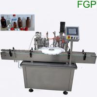 15ml 30ml e-liquid glass dropper pipette bottle filling capping machine