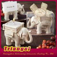 Fashion Birthday Favors Elephant Shaped Decorative Candle Holder