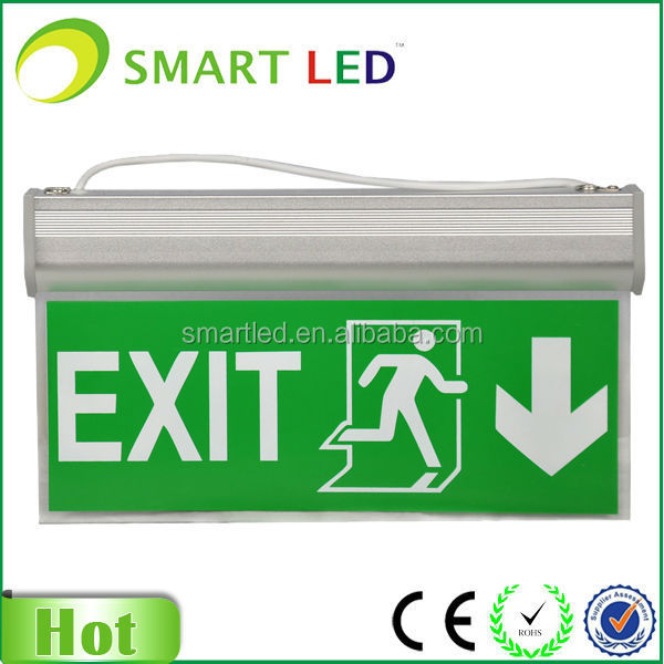 emergency evacuation checklist template SE-0301 series SAA CE/ROHS 3 years warranty fire exit sign