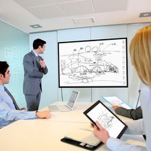 "21""-93 "" inch smart board interactive whiteboard with good price"