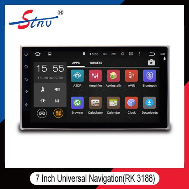 Android car radio 2 din android car dvd/Universal 2 din 7 inch car dvd player/2 din car with rk3188 solutions