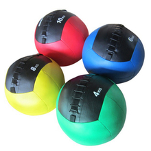 New Arrival Gym Use PU Leather Wall Medicine Ball
