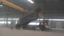 2014 HOWO tipper truck for algeria 336hp engine capacity 18cbm carriage