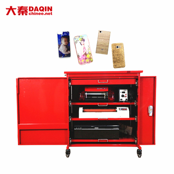 custom mobile sticker printer and cutter machine for small business