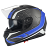 2018 new motorcycle dual visor full face racing helmets