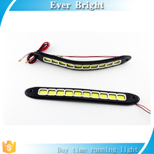 Auto COB 10SMD Flexible DRL LED Daytime Running Light 8W COB Fog Lights Car LED DRl, flexible led drl/ daytime running