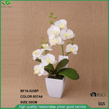 New development hot selling Artificial Butterfly Orchid Flower in pot