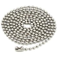 Stainless steel ball <strong>chain</strong> with lock for necklace ball <strong>chain</strong> necklace