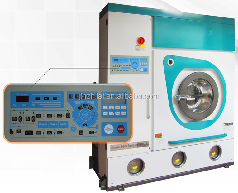CE & ISO approved full-auto dry cleaning machine popular in USA, European