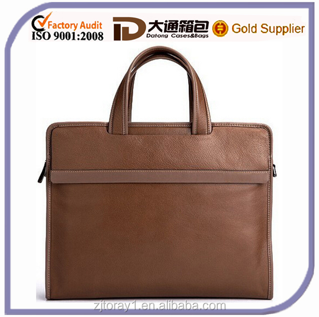 Cheap Men Leather Briefcase From China