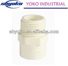 2014 China high quality CPVC pipe fittings Plastic Tubes hollow structural steel pipe
