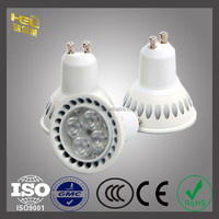 Jiaxing CE RoHS GU5.3 4W 12v Plastic PF > 0.95 LED High Power Spotlight Spot Light light cup Bulb Light ,3 Year Warranty LED