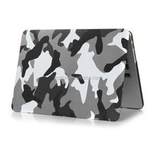 For macbook pro laptop, camo design pattern hard shell cover case for macbook pro 13""