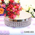 2018 New design Factory price wedding cake stand for wedding decoration & party decoration(CAKE-003)