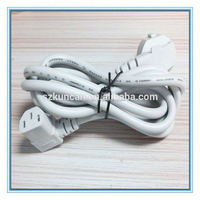 standard Euro German type power cord VDE approval power cord