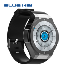 1.4 Inch 3G Wifi Smart Watch with Sim Card Slot,MTK6580 Quad-Core Smart Watch Waterproof Mobile Phone