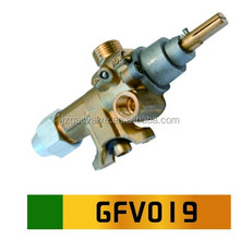 China Supply Natural LPG Gas Grill Flameout Protection Safety Brass Valve For Stove Burner Oven With Safety Equipment