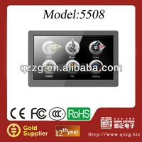 Factory portable 5 inch car navigator sale HOT IN 2013