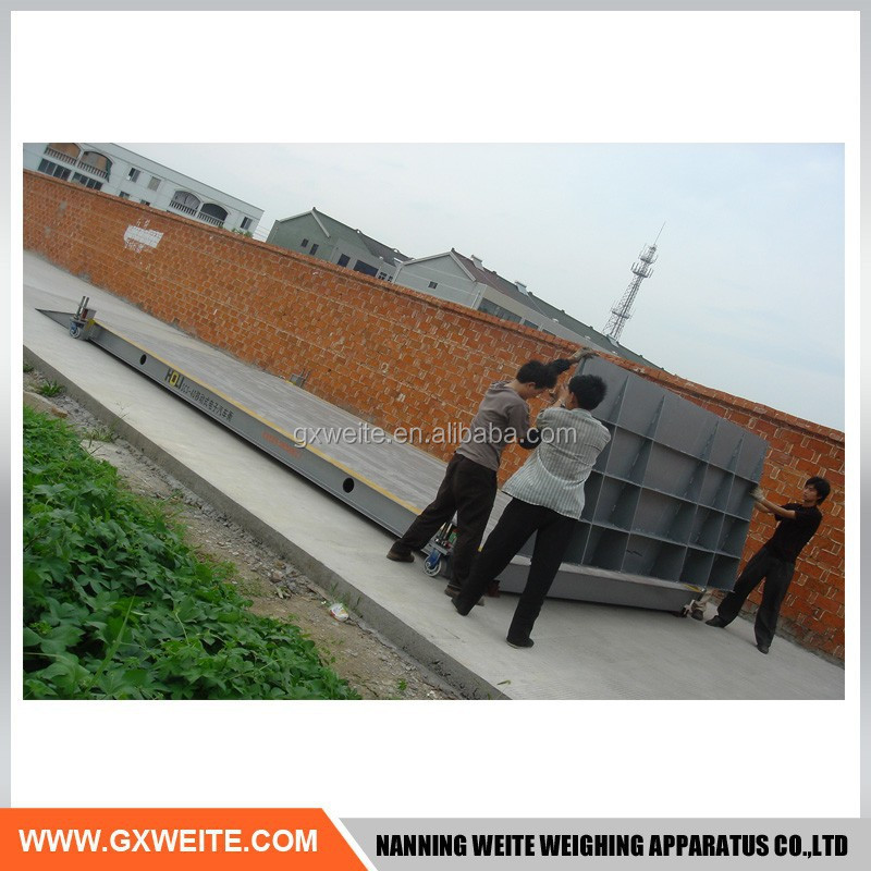 High precision electronic weighbridge