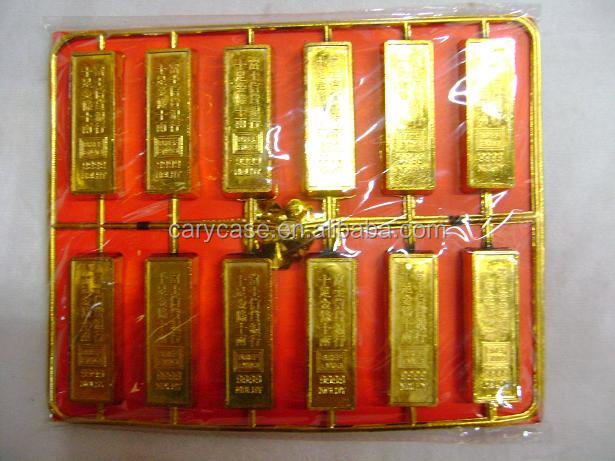 fake gold bar , golden ingots
