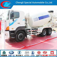 Japan Technique 6X4 HINO Concrete Mixers 10 wheels transit mixer truck 25ton HINO used truck engine