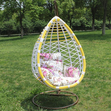 Europe style Rattan / Wicker Guangdong foshan furniture outdoor swing chair