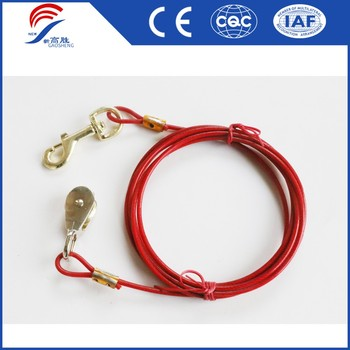 7x7 pet dog tie out cable