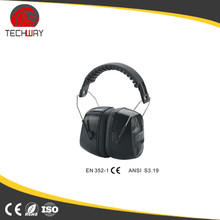 Retractable earphone heated earmuff with mic & voice control