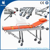 BT-TA001 CE ISO Medical folding mobile used ambulance stretcher ambulance stretcher for sale