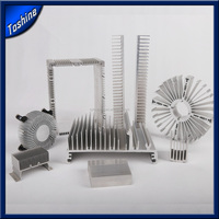 Durable Aluminum extruded LED heat sink