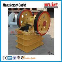 China famous brand supply how to make artificial quartz stone jaw crusher machine production line