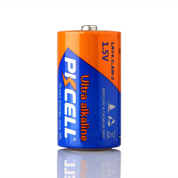 Alkaline Battery LR14 C Size AM-2 1.5V Dry Batteries From Shenzhen Pkcell Manufacturer