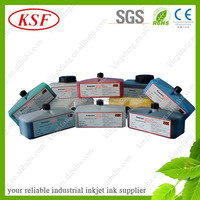 China factory yellow ink for domino inkjet