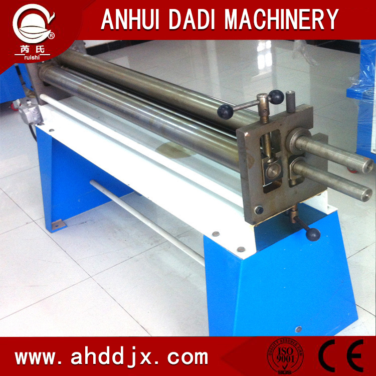 Electric 3 Rolls Small Sheet Roller Bending Machine