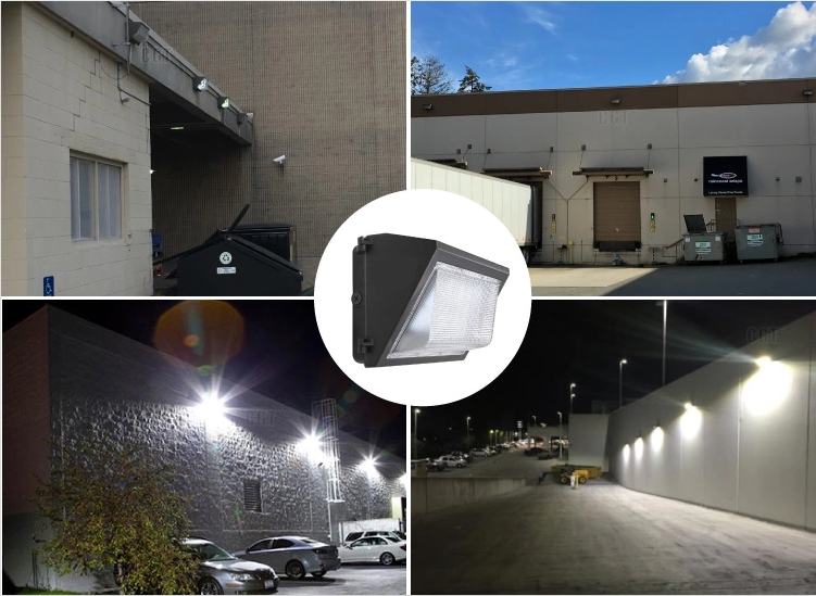 LED wall pack housing outdoor Wall lighting