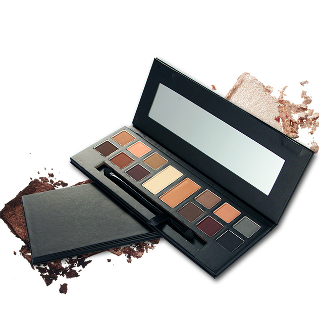 Custom Guangzhou Matte No Logo Make Up High Quality Metallic Makeup Pigment Eyeshadow Private Label Palette <strong>Eye</strong>