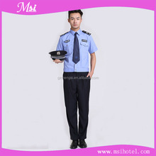 Wholesale high quality cheap fashionable design and customized security guard uniform