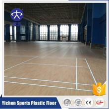 Basketball court maple wood pvc flooring