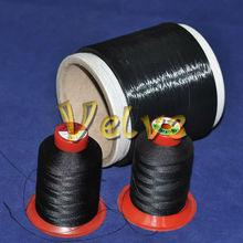 stainless steel fiber conductive sewing thread for Use in anti-static shoes