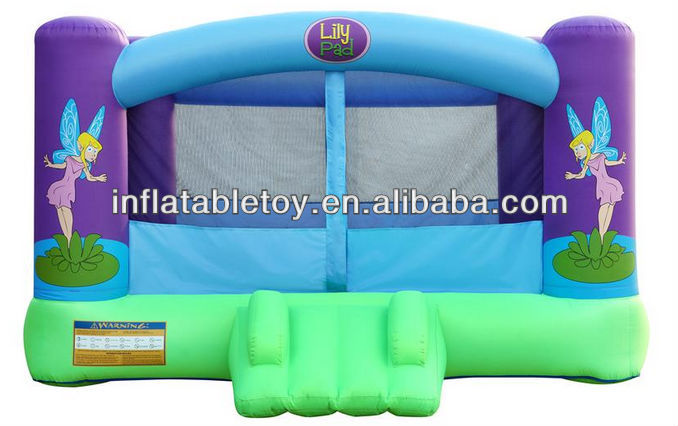 inflatable lily pad bouncy