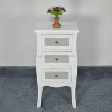 Free sample cheap price white living room furniture sets wooden drawers cabinet