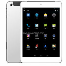 7.85inch cheap gsm phone call android tablet download music free mp3 China mobile tablet