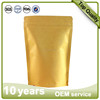 Food grade brown kraft stand up paper bag , stand up kraft paper bag , stand up bag/pouch with window brown bag
