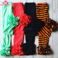 Newest design toddle girl icing leggings wholesale baby ruffle pants girls icing pants