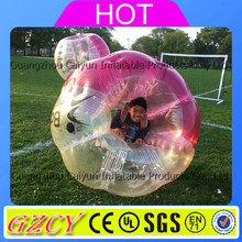 Kids n adults used glowing inflatable bumper ball suit bubble ball for sale